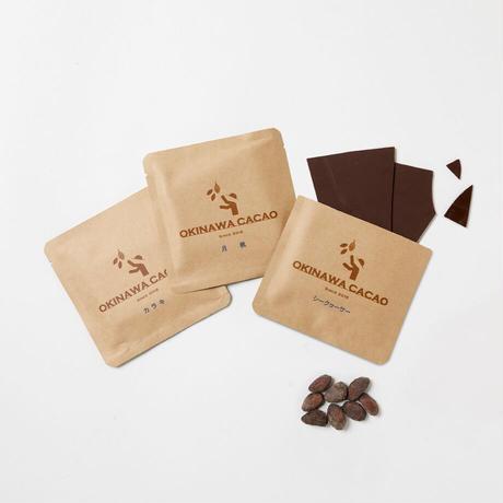 沖縄チョコレート3種ギフトセット (カラキ・シークヮーサー・月桃)