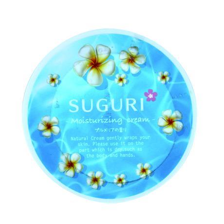 SUGURI 保湿クリーム(プルメリアの香り)