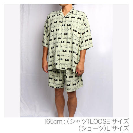 "OK211-301【"" CLOTH OFF(今の君はピカピカに光って) "" EAZY SHORTS】"