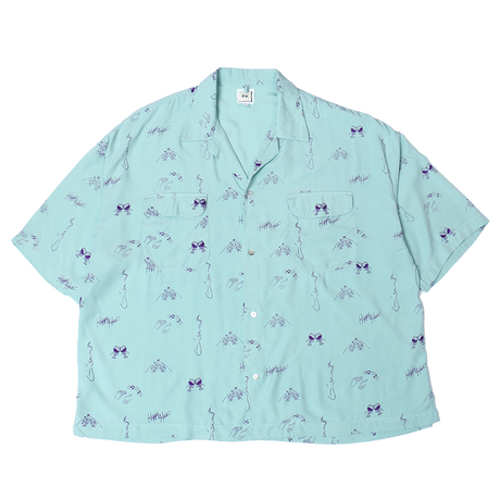 OK201-805 : HAPPY HOUR  WIDEシルエット S/S-SHIRTS
