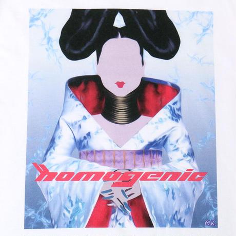 "【""HOMOGENIC""インクジェット ワイドシルエットL/S TEE】"