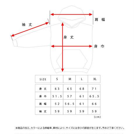 "【""AOR""インクジェット SWEAT HOODIE】"