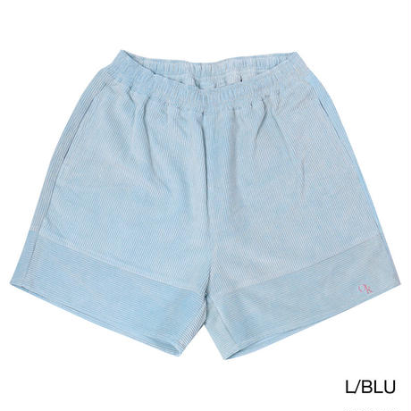 OK191-301  WIDE-WALE CORDUROY WIDE SHORTS