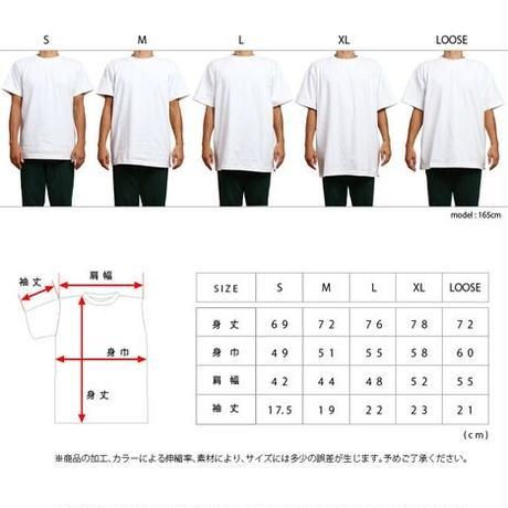 【OK213-015】AJ1 S/S TEE(20cm手刺繍)