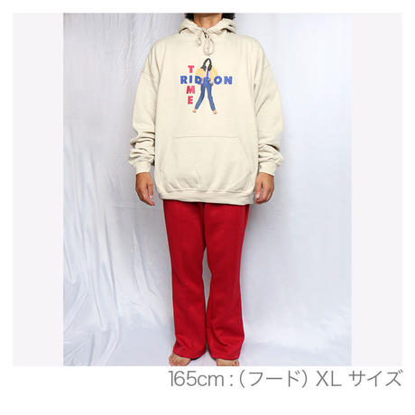 """【""""RIDE ON TIME""""インクジェット SWEAT HOODIE】"""
