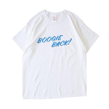 【BOOGIEBACK & とにかくパーティー ロゴ S/S TEE】