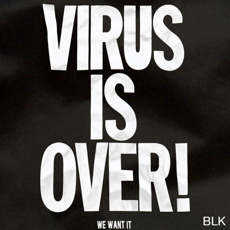"OK213-402【""VIRUS IS OVER!"" COACH JKT】"