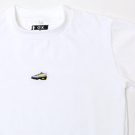 OK193-009SS    MINI MAX95  TEE(手刺繍)
