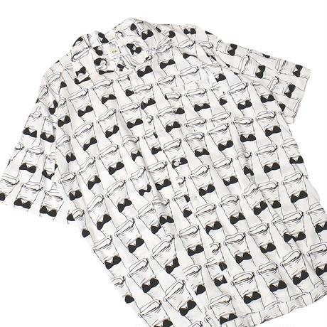 """OK211-801【"""" CLOTH OFF(今の君はピカピカに光って) """" OPEN COLLAR SHIRTS FOR MEN】"""