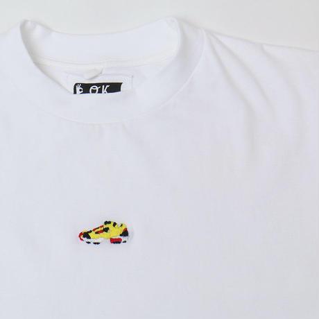 OK193-010LS    MINI PUMP  L/S TEE(手刺繍)