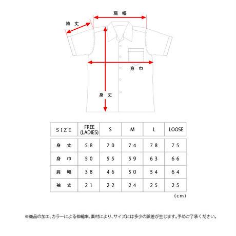 """OK211-803【""""#1 FINGER """" OPEN COLLAR SHIRTS】"""