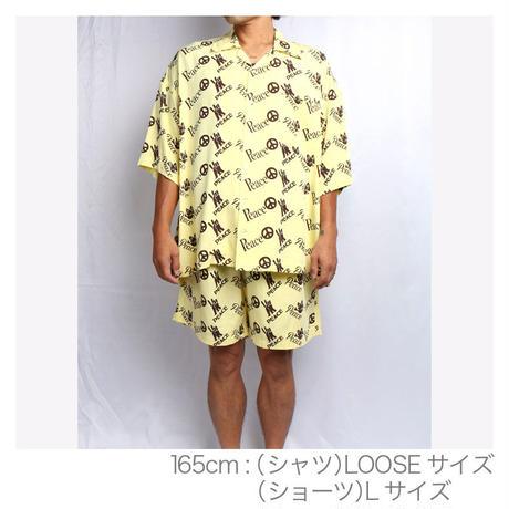 "OK211-802【"" 3PEACE "" OPEN COLLAR SHIRTS  FOR MEN】"