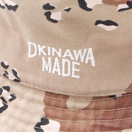 OKINAWAMADE™バケットハット(デザートカモ)