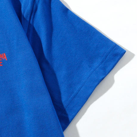 OKINAWAMADEスタンダードTシャツ(ブルー)