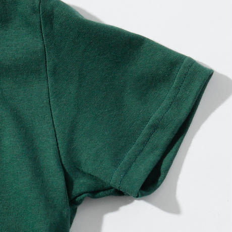 OKINAWAMADEスタンダードTシャツ(グリーン)  キッズサイズ