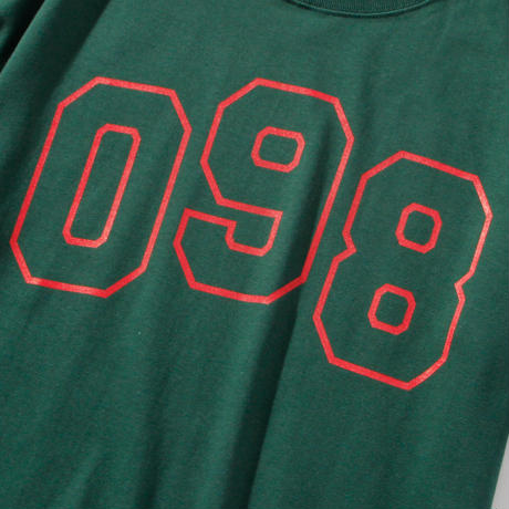 OKINAWAMADE 098ロゴTシャツ(グリーン)