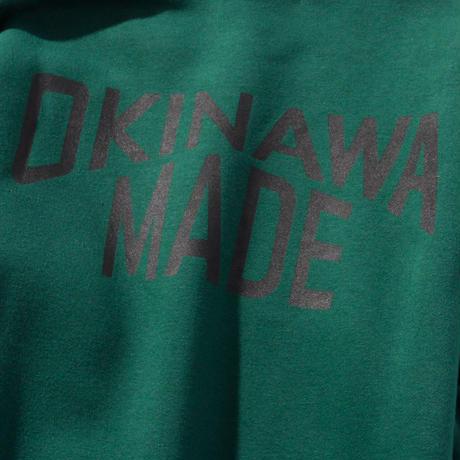 OKINAWAMADEスウェットシャツ(グリーン)