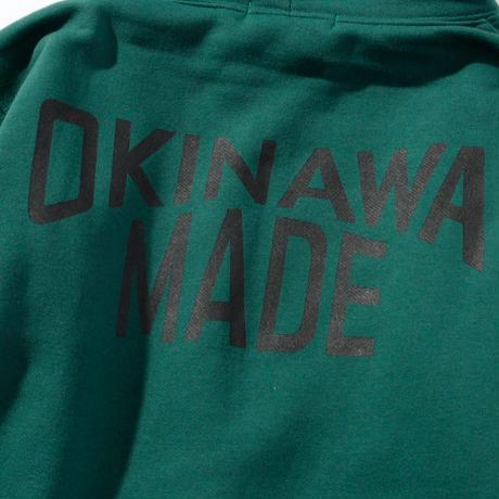OKINAWAMADEスタンダードプルパーカー(グリーン)