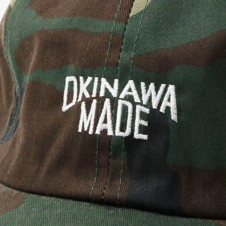 OKINAWAMADE™6パネルキャップ(カモフラージュ)
