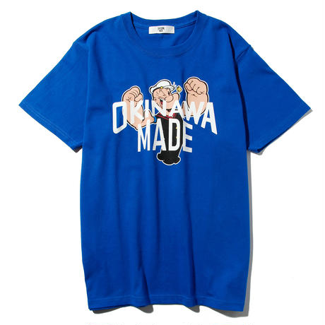POPEYE/OKINAWAMADE™コラボTシャツ(ブルー)