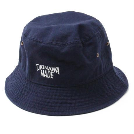 OKINAWAMADE™バケットハット(ネイビー)