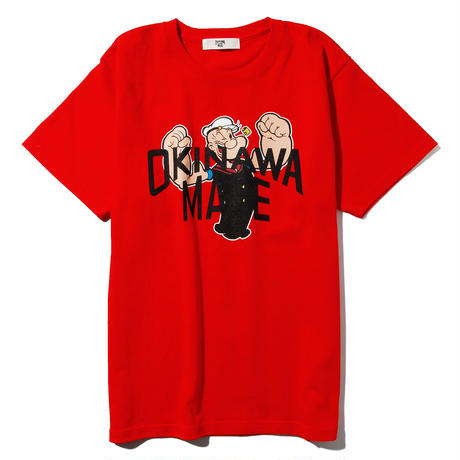 POPEYE/OKINAWAMADE™コラボTシャツ(レッド)