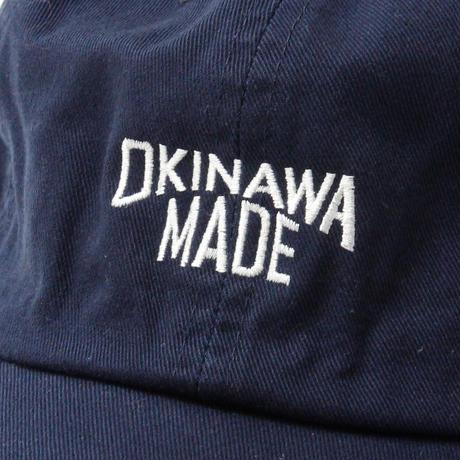 OKINAWAMADE™6パネルキャップ(ネイビー)