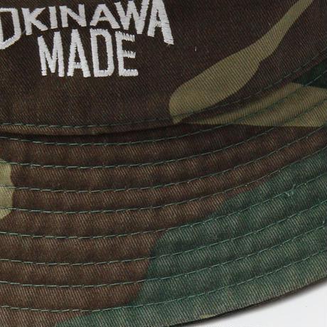 OKINAWAMADE™バケットハット(カモフラージュ)