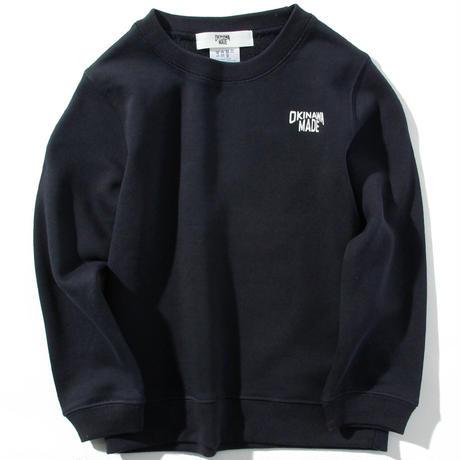 OKINAWAMADEスウェットシャツ(ネイビー)  キッズサイズ