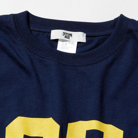 OKINAWAMADE™098TROOPERロゴTシャツ(インディゴブルー)