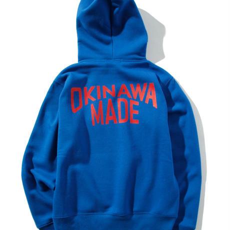 OKINAWAMADEスタンダードプルパーカー(ブルー)