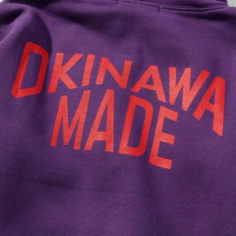 OKINAWAMADEスタンダードプルパーカー(パープル)
