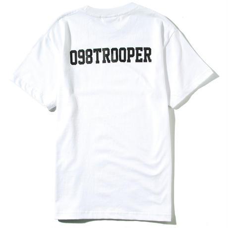 098TROOPERロゴTシャツ(ホワイト)
