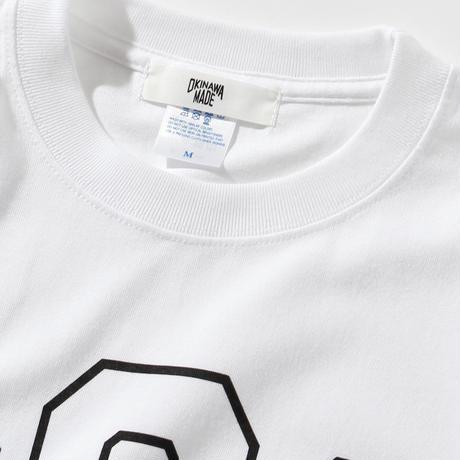 OKINAWAMADE 098ロゴTシャツ(ホワイト)