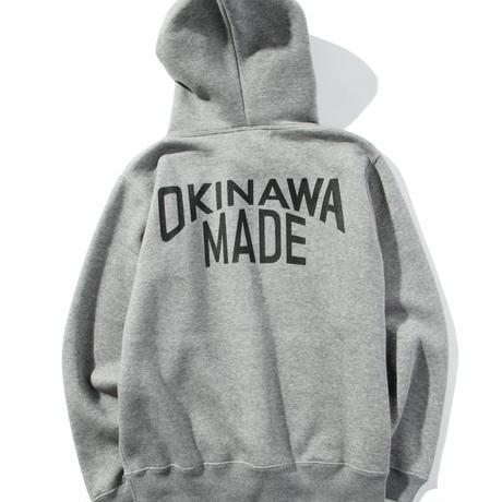 OKINAWAMADEスタンダードプルパーカー(グレー)