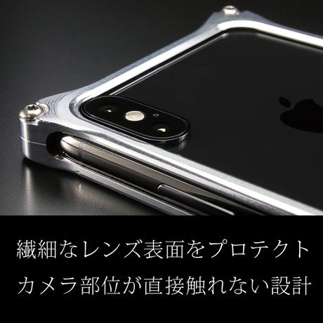 iPhone X/ Xs アルミ削り出しケース【アラベスク 】RED 竹下さんmodel【送料無料 税込】