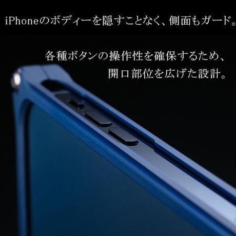 iPhone 12/12pro アルミ削り出しケース【七宝 】BLACK【送料無料 税込】