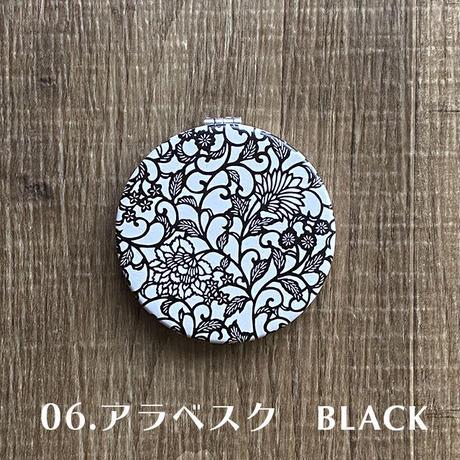伊勢型紙文様のコンパクトミラー【ネコポス限定 税込・送料無料】(代引き不可)