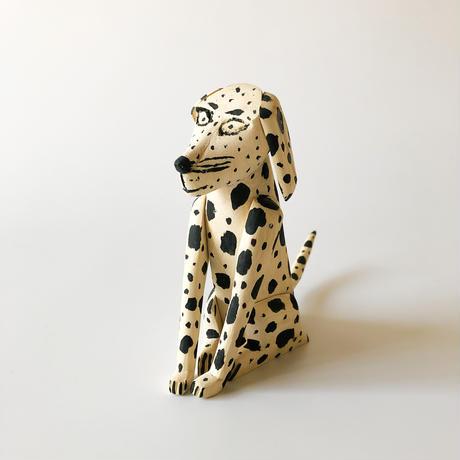 "Oaxaca Wood carving ""Dog❺"""
