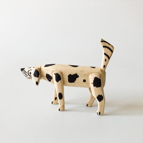"OAXACA wood carving ""Dog❶"""