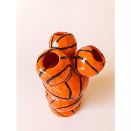 "Rebu Ceramics ""basketball vase""❸"