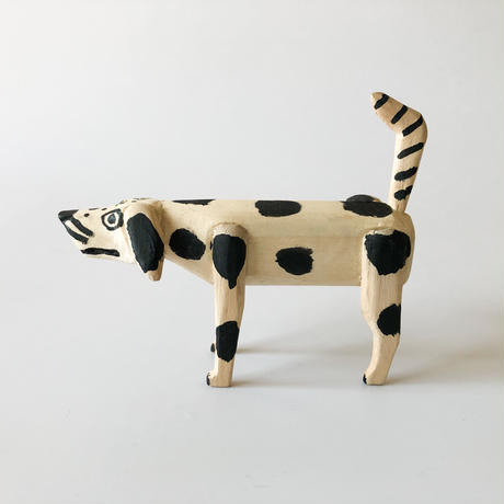 "OAXACA wood carving ""Dog❷"""