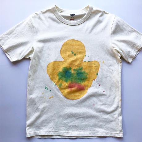 misaki kawai hand paint T-shirts②