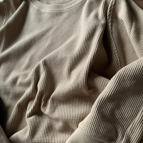 サーマルプルオーバー beige