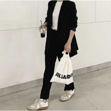 blackセットアップスーツ