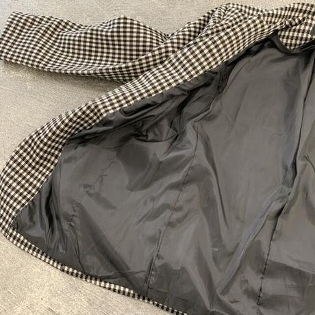 ギンガムチェックジャケット