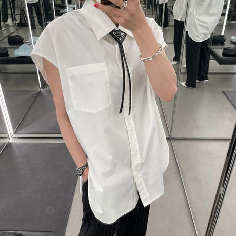 フレンチロングシャツ