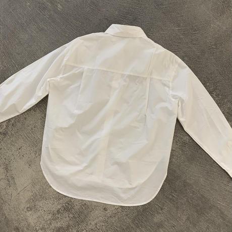 ベーシックホワイトシャツ (o_tops-00153)