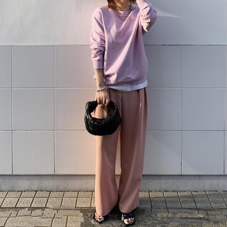 ワイドカラースラックスblue,pink,black