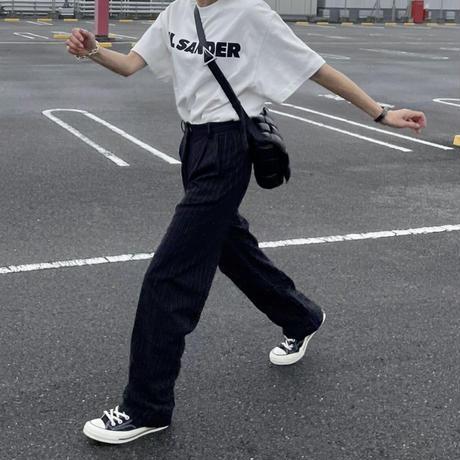 【9月中旬入荷予定】ピンストライプスラックス(0,1,2)
